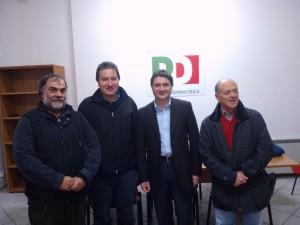 delegazione comitati e l'on Mazzoli .ridotta jpg