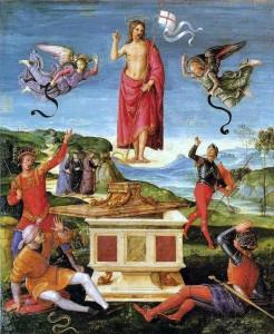 risurrezione di Raffaello