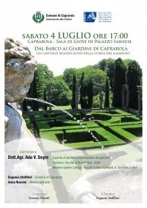 Conferenza Caprarola 4 luglio 2015