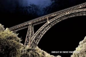 ponte ferrovia CCO dal Vallone del Rio Vicano