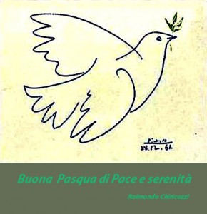 buona pasqua di pace e serenità copia